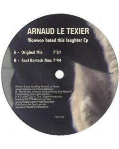 Arnaud Le Texier - Woowoo Hated This Laughter EP