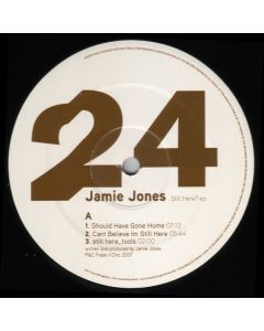 Jamie Jones  - Still Here? EP