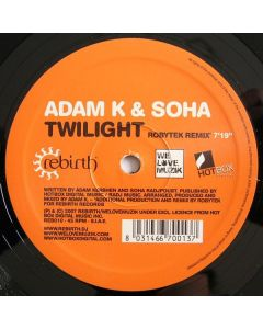Adam K & Soha - Twilight