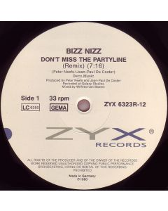 Bizz Nizz - Don't Miss The Partyline (Remix)