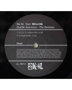 No Sé Feat. Menelik - Quelle Aventure - The Remixes
