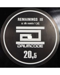 Adam Beyer - Remainings III