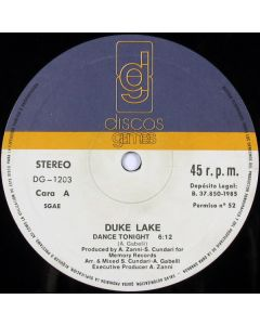 Duke Lake - Dance Tonight