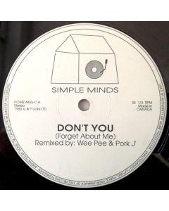 U2 / Simple Minds - Megastorymix / Don't You (Forget About Me) (Remix)