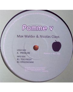 Max Walder & Nicolas Clays - Too Fresh EP