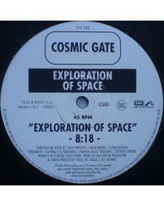 Cosmic Gate - Exploration Of Space / Melt To The Ocean