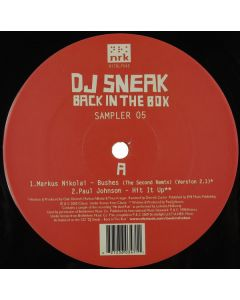 DJ Sneak - Back In The Box (Sampler 05)