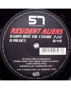 Resident Aliens - Way Into The Future / Values