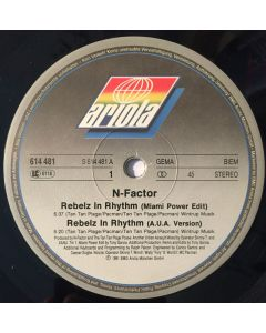 N-Factor - Rebelz In Rythm