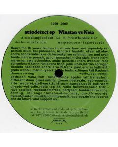 Winstan vs. Noia - Autodetect EP (Jubiläumsausgabe)