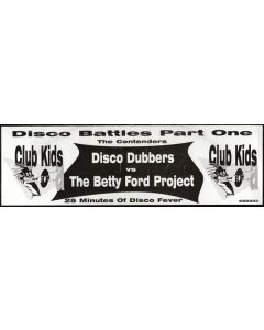 Disco Dubbers vs Betty Ford Project - Disco Battles Part One