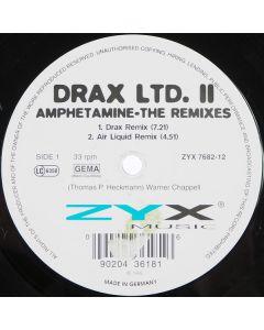 Drax - Amphetamine - The Remixes