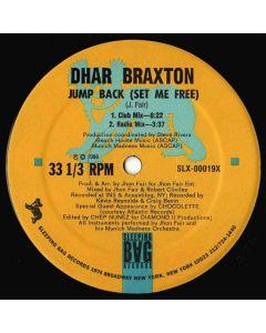 Dhar Braxton - Jump Back (Set Me Free)