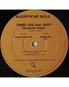 Timmy Dee Feat. Rudy Sandapa - Wonderful Things