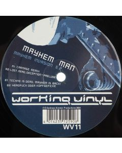 Mayhem Man - Mayhem Invasion E.P.