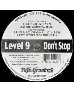 Level 9 - Don't Stop