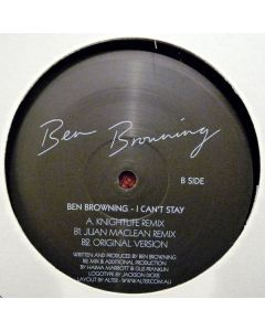 Ben Browning - I Can't Stay