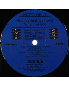 Vitamino Feat. Ricardo Da Force - What I've Got