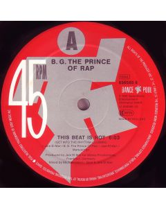 B.G. The Prince Of Rap - This Beat Is Hot (Get Into The Rhythm-Clubmix)