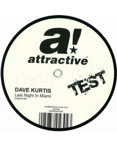 Dave Kurtis - Last Night In Miami