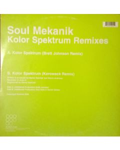 Soul Mekanik - Kolor Spektrum (Remixes)