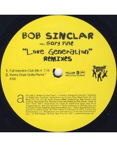 """Bob Sinclar Feat. Gary """"Nesta"""" Pine - Love Generation (Remixes)"""