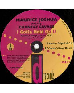 Maurice Joshua - I Gotta Hold On U