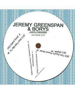 Jeremy Greenspan & Borys  - God Told Me To EP