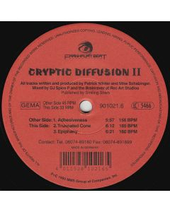 Cryptic Diffusion - Adhesiveness
