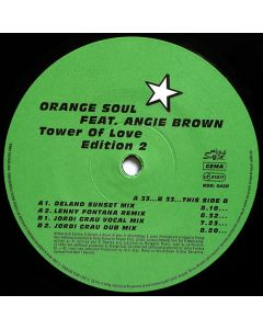 Orange Soul Feat. Angie Brown - Tower Of Love - Edition 2