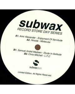 Various - Subwax Record Store Day Series 2014