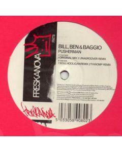 Bill, Ben & Baggio - Pusherman