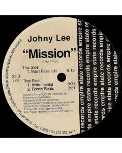 Johny Lee - Mission