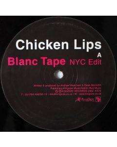 Chicken Lips - Blanc Tape / Steppin