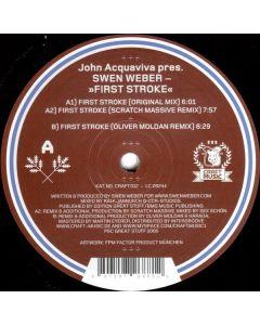 John Acquaviva Pres. Swen Weber - First Stroke
