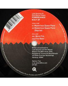 Luke Solomon & Nick Maurer Present Powerdance - M.S.P. EP