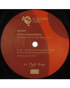 Planetary Assault Systems - Planetary Funk 22 Light Years Series - Part 2