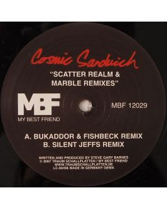 Cosmic Sandwich - Scatter Realm & Marble (Remixe) - 905608 - Very Good Plus