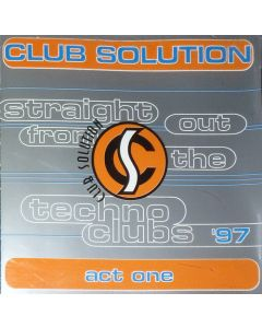 DJ Mellow-D - Club Solution '97: Act One