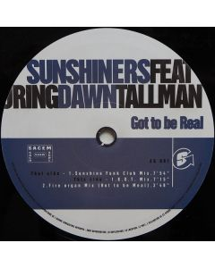 The Sunshiners Featuring Dawn Tallman - Got To Be Real