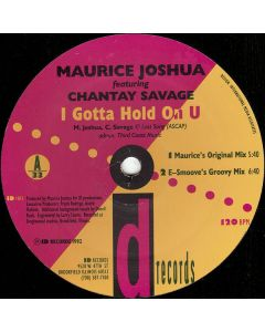 Maurice Joshua - I Gotta Hold On U